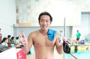 400m自由形_金澤健司